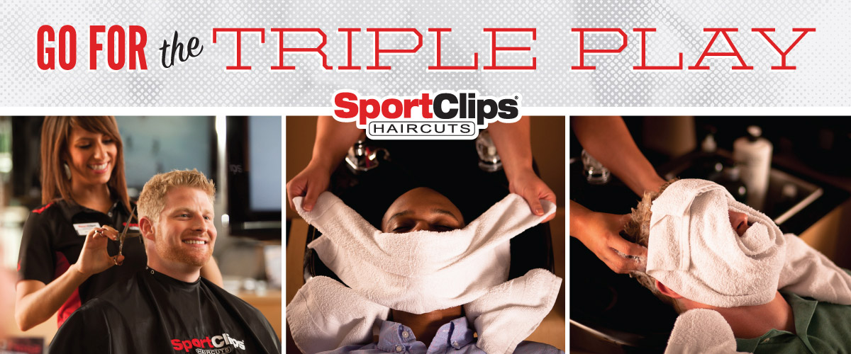 The Sport Clips Haircuts of Deer Valley Towne Center  Triple Play