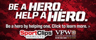 Sport Clips Haircuts of Deer Valley Towne Center ​ Help a Hero Campaign